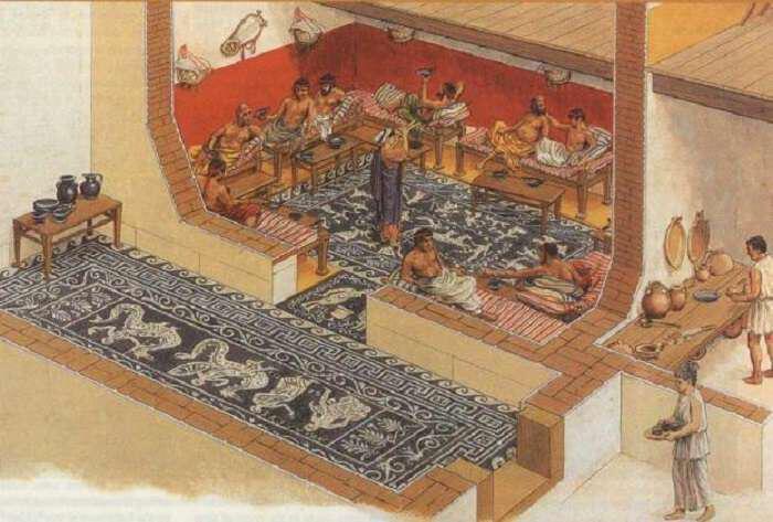 archeoelliniko-trapezi-ti-etrogan-proi-mesimeri-vradi-i-archei-ellines-gefsis-pou-epistrefoun-simera