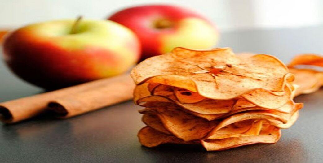 Το απόλυτο σνακ: Τραγανά τσιπς μήλου με κανέλα