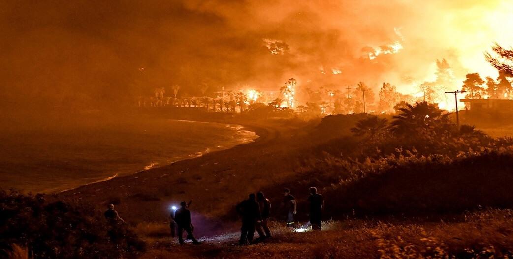 Στίς φλόγες ΠΆΛΙ τά Γεράνεια Όρη... ετοιμάζονται για τις ανεμογεννήτριες